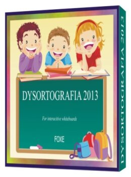 FOXE Dysortografia 2013 for interactive whiteboards (dla tablic interaktywnych)
