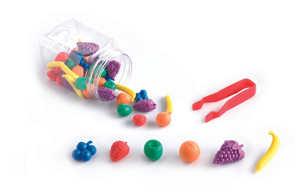 Sortowanie - owoce (48 elementów)